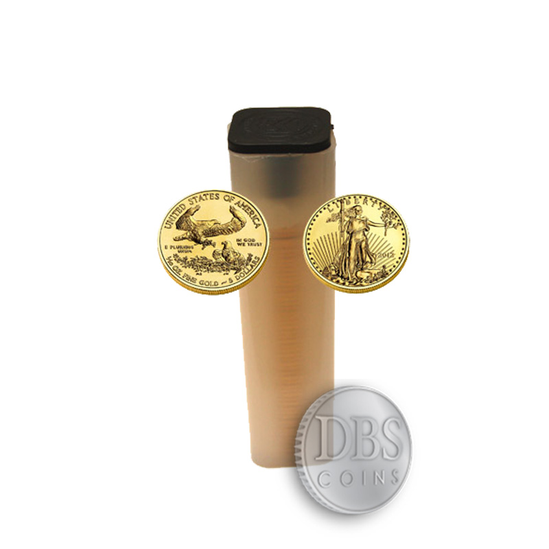 Buy 2014 1 10 Oz Gold American Eagle Tube 50 Coins