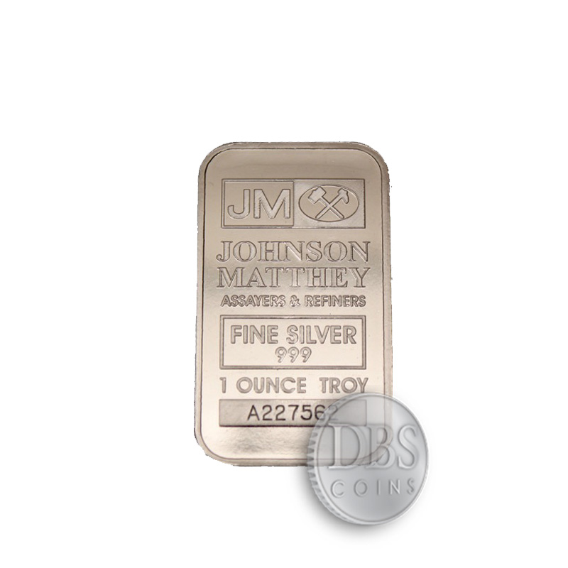 Johnson Matthey Silver 1 Oz Bar Online Dbs Coins