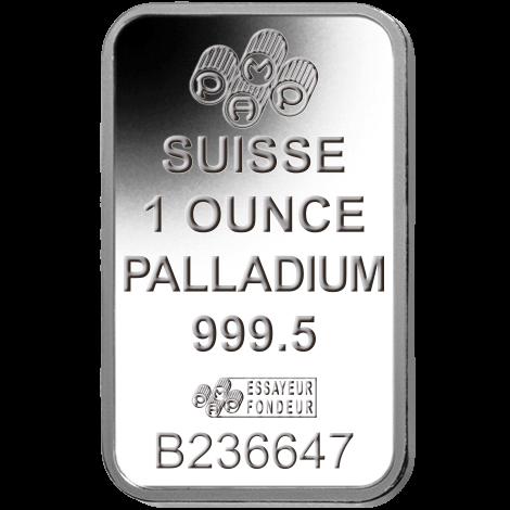 1 Oz Palladium Bar Mint Varies 9995 Fine Dbs Coins