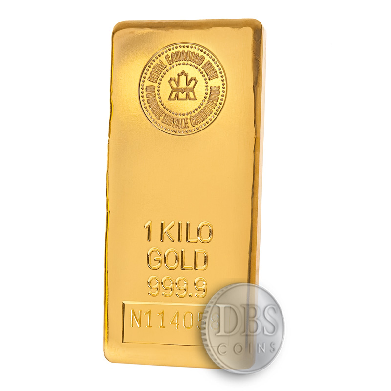 1 Kilo Rcm Gold Bar 32 15 Oz Dbs Coins