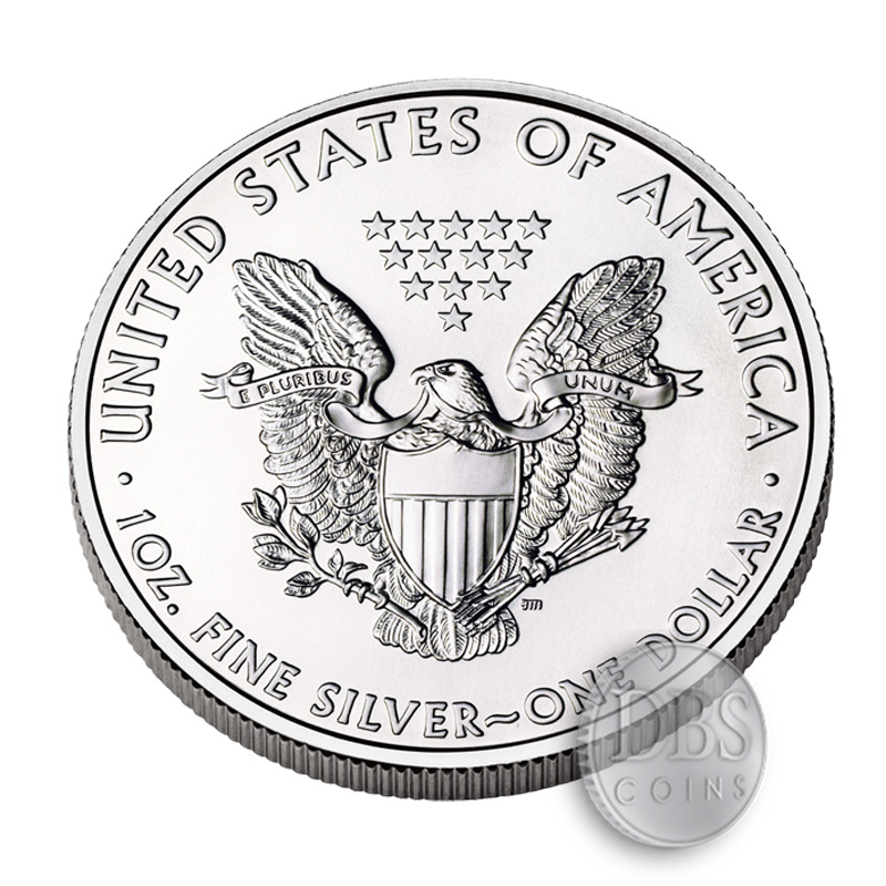 2015 Silver American Eagles 1 Oz Coin