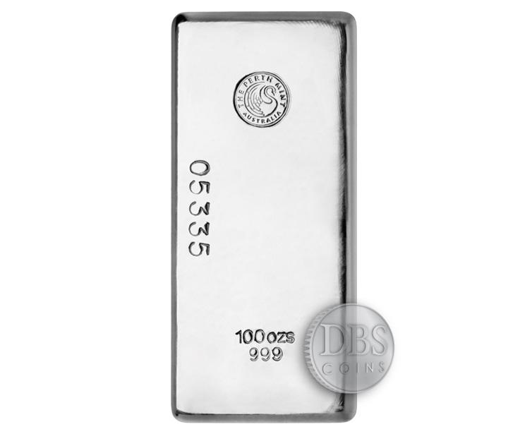 Buy 100 Oz Silver Perth Bullion 999 Fine Bars Brand New