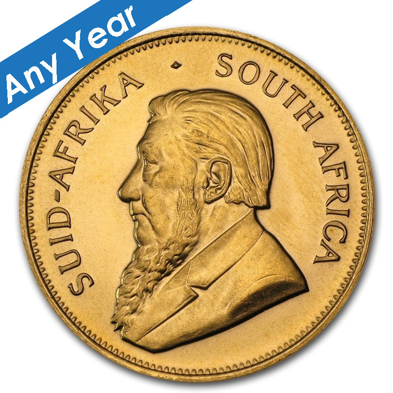 Gold 1 Oz South African Krugerrand Date Of Our Choice