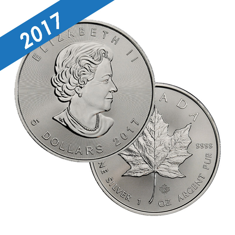 Buy 2017 Silver Canadian Maple Leaf 1 Oz Coins Dbs Coins