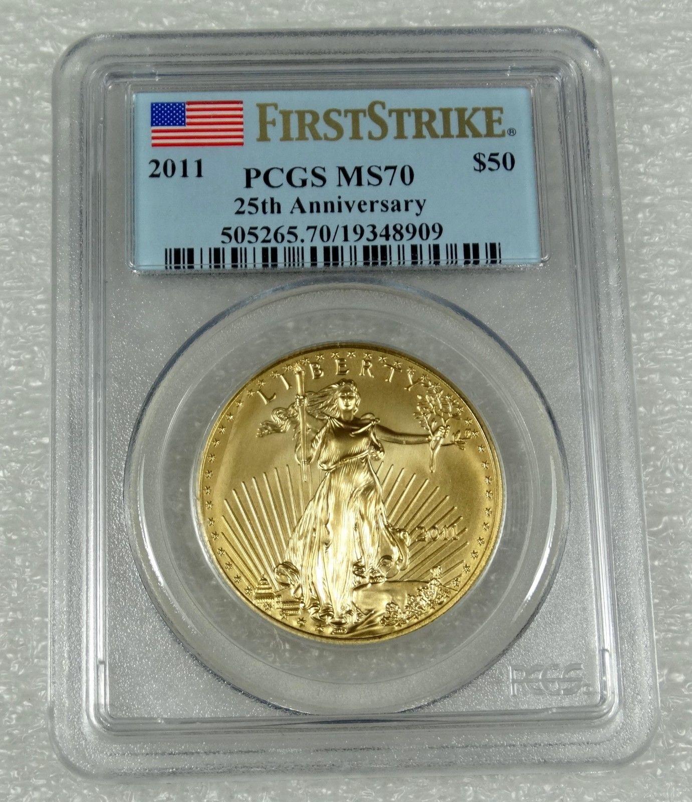 Buy Gold 2011 1 Oz American Gold Eagle Ms70 Er