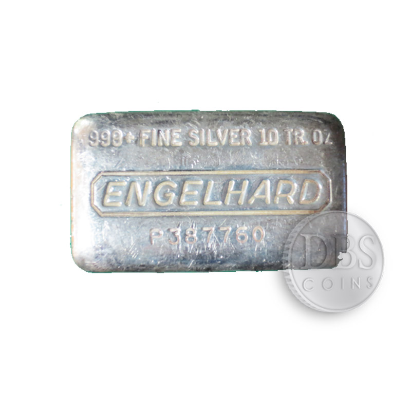 Buy Engelhard 10 Oz Silver Bars Dbs Coins