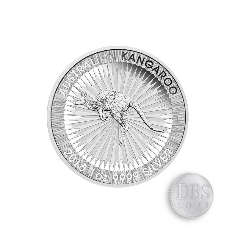 Buy 2016 Perth Mint Silver Kangaroo 1 Oz Coins