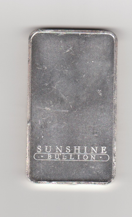 Buy Sunshine 10 Oz Silver Bars Dbs Coins
