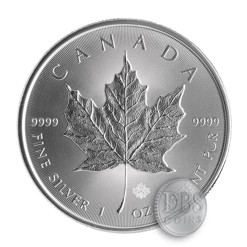 Buy 2016 Silver Canadian Maple Leaf 1 Oz Coins Dbs Coins