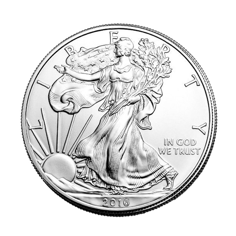 Buy 2016 Silver American Eagle 1 Oz 999 Fine Silver Eagle