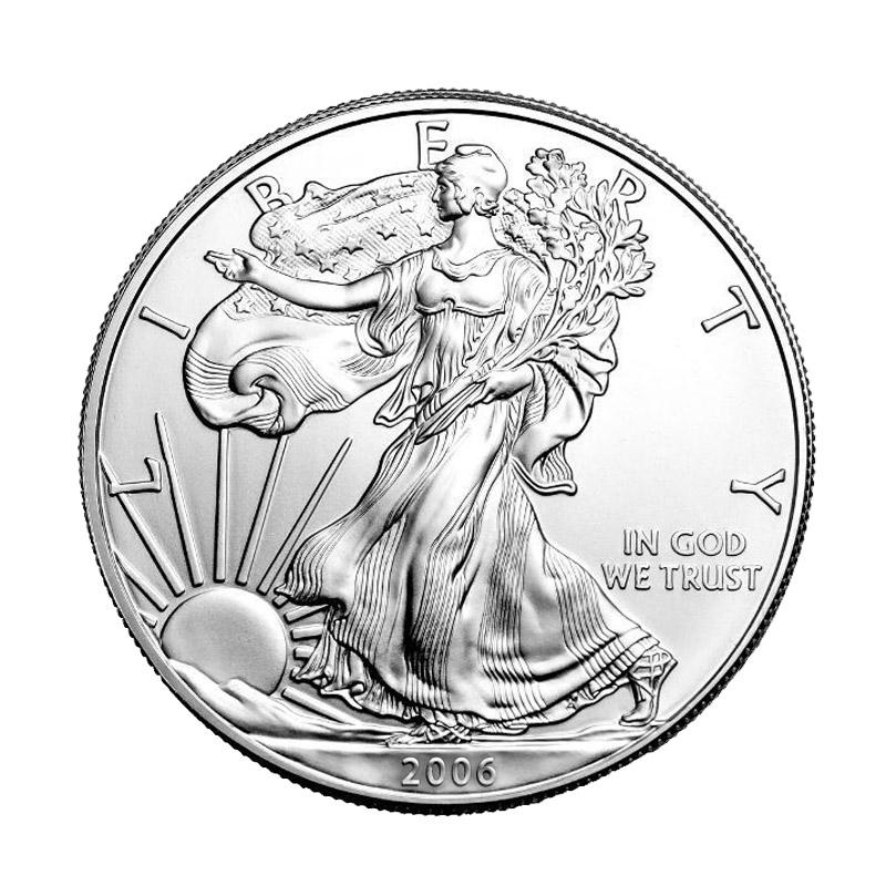 Buy 2006 Silver American Eagle 1 Oz 999 Fine Silver Eagle