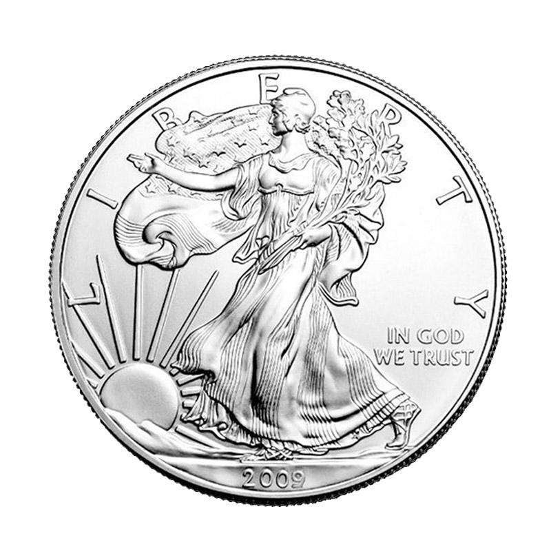 Buy 2009 Silver American Eagle 1 Oz 999 Fine Silver Eagle