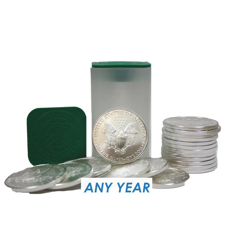 Buy American Silver Eagle Coin Tubes 20 1 Oz Coins Dbs