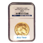 Gold American Buffalo MS69 NGC