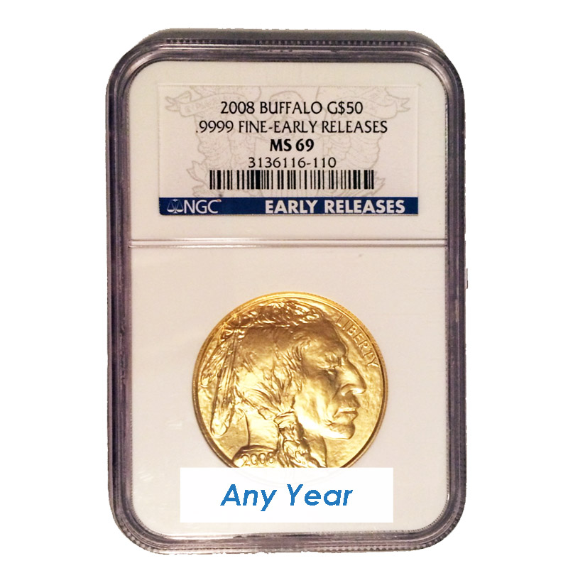 Buy Ms69 Gold American Buffalo 1oz Gold Coins Online Dbs