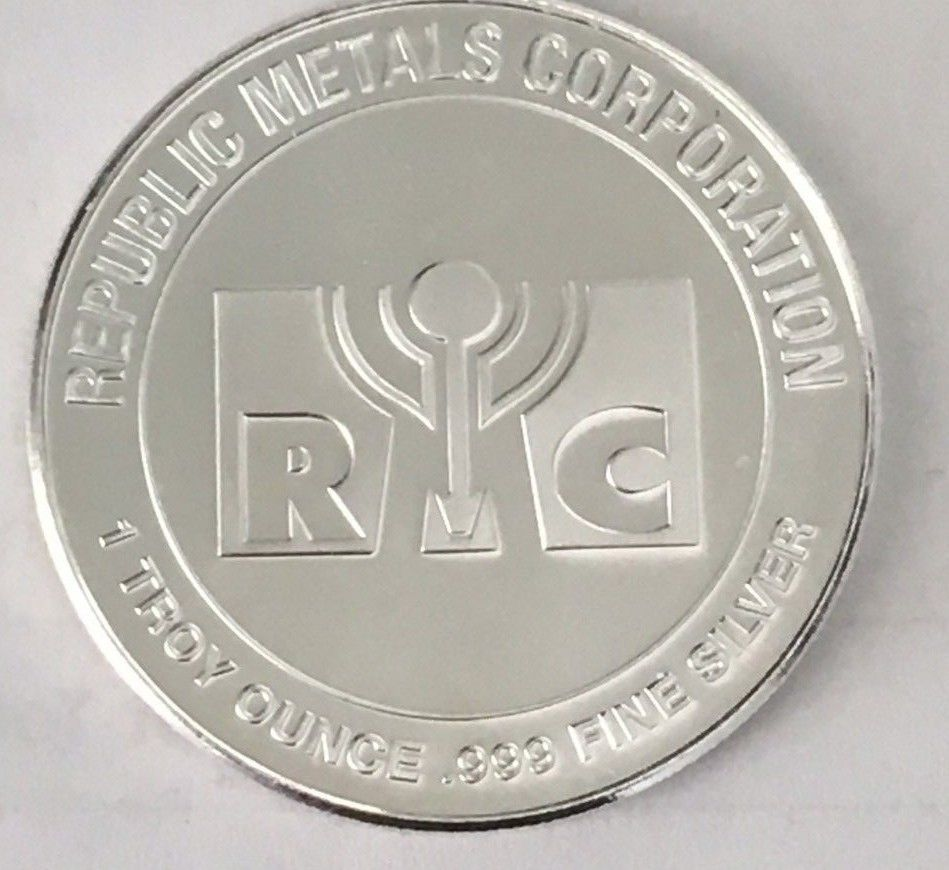 Buy Rmc Silver Rounds 1oz 999 Fine Silver Online Dbs Coins