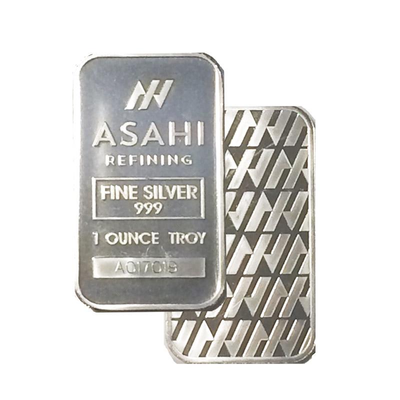 Buy Asahi 1 Oz Silver Bars Silver Asahi Bars From Dbs Coins