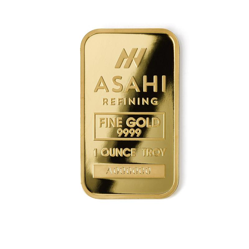 Buy Asahi 1 Oz Gold Bars Gold Asahi Bars From Dbs Coins