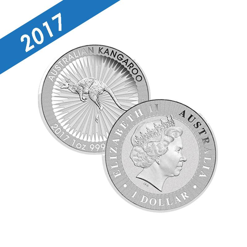 Buy 2017 Perth Mint Silver Kangaroo 1 Oz Coins