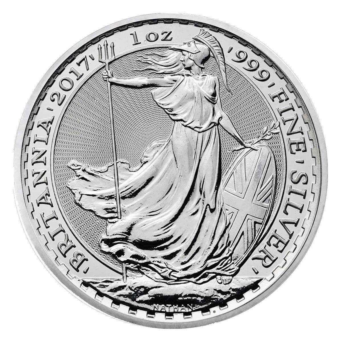 Buy 2017 Silver Britannia Coins Online 1 Oz 999 L Dbs Coins