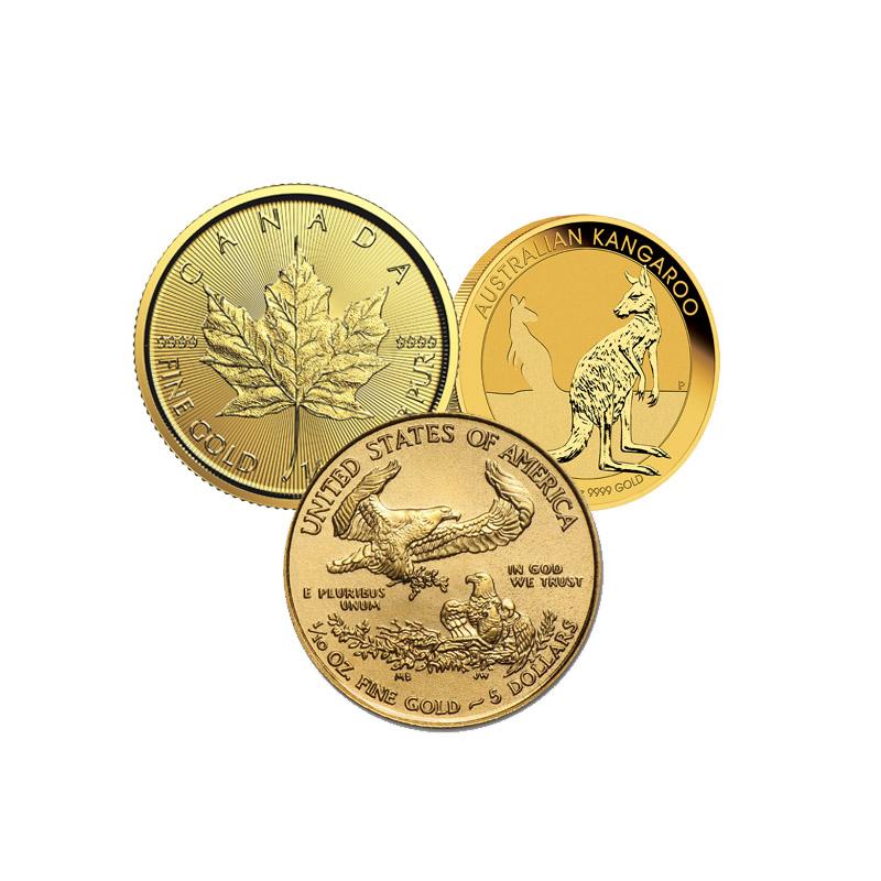 1/10 oz. Gold Coins