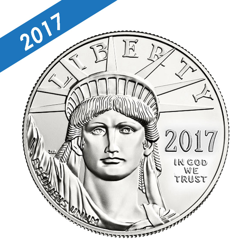 Buy 2017 Platinum American Eagle 1 Oz Coins Online Dbs