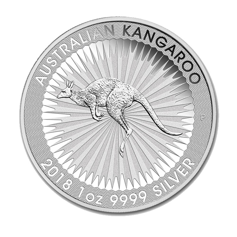 Buy 2018 Perth Mint Silver Kangaroo 1 Oz Coins